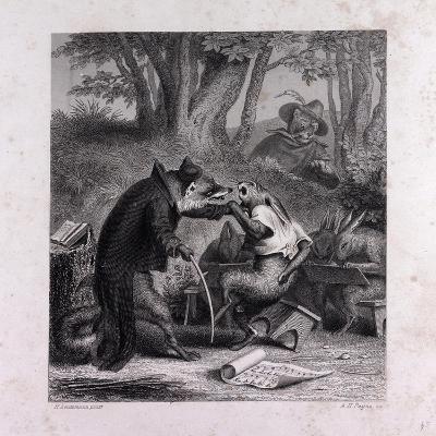 Reynard Teaching the Creed--Giclee Print