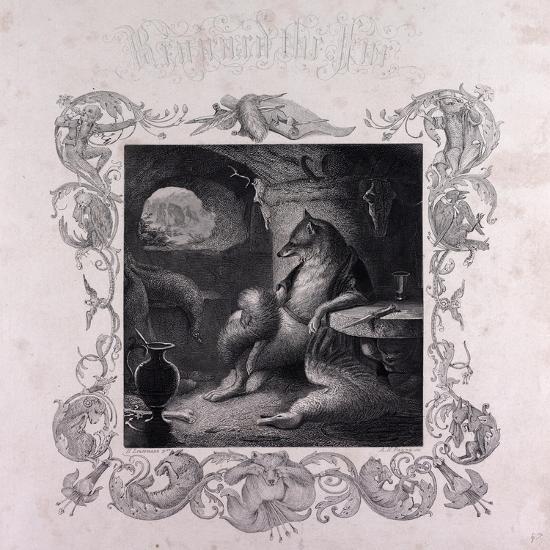 Reynard the Fox at Home--Giclee Print