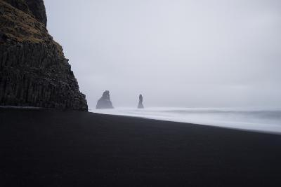 Reynisdrangar Spires Rise from the Ocean-Chad Copeland-Photographic Print