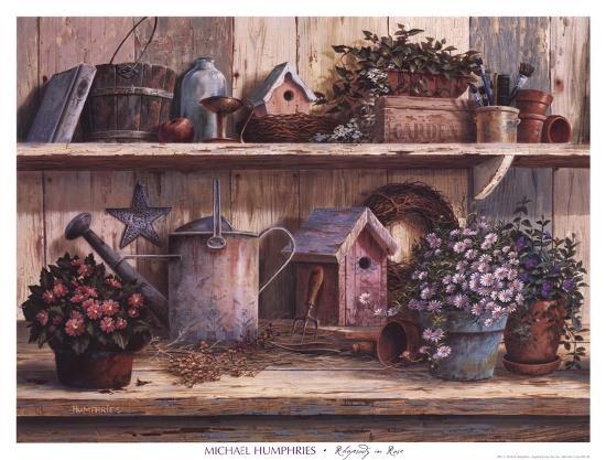 Rhapsody in Rose-Michael Humphries-Art Print