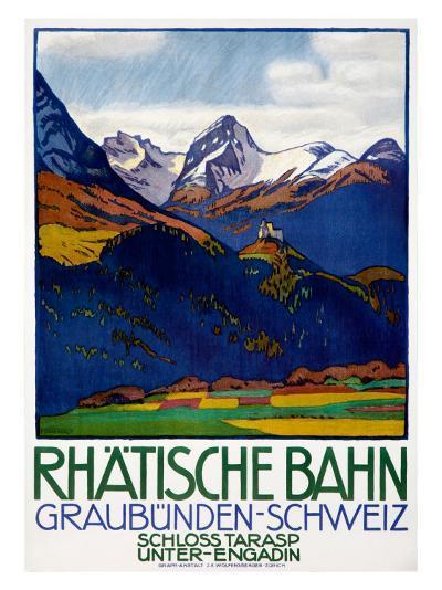Rhatisce Bahn--Giclee Print