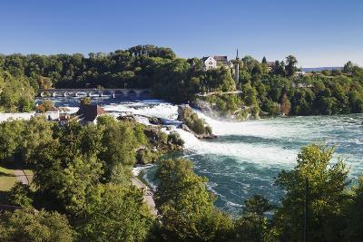 Rhine Falls (Rheinfall) Waterfalls-Markus Lange-Photographic Print
