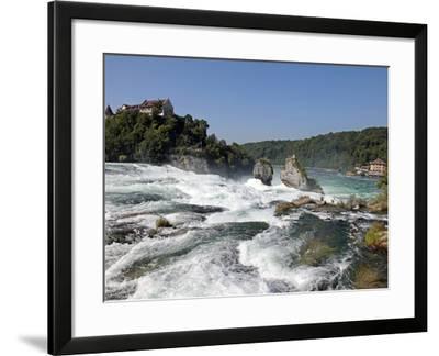Rhine Falls, Schaffhausen, Switzerland, Europe-Hans Peter Merten-Framed Photographic Print