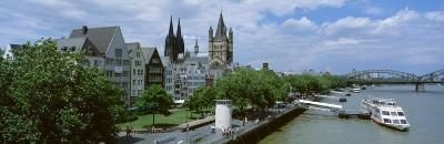 Rhine River, Cologne, Germany--Photographic Print