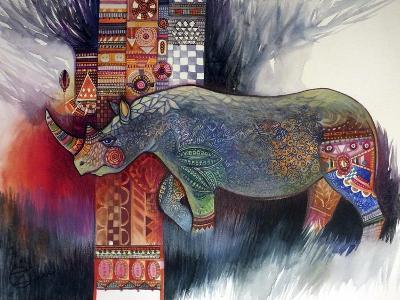 Rhino-Oxana Zaika-Giclee Print
