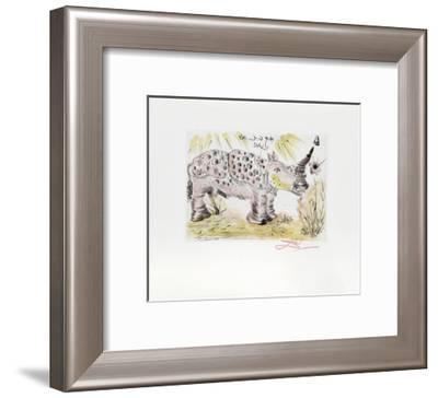 Rhinoceros-Salvador Dalí-Framed Collectable Print