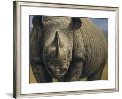 Rhinos-Dan Craig-Framed Giclee Print