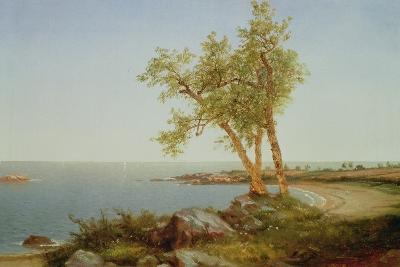 Rhode Island Coast, New England-John Frederick Kensett-Giclee Print