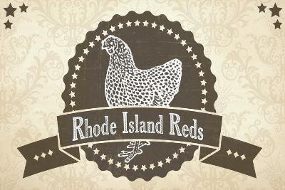 Rhode Island Reds 1--Giclee Print
