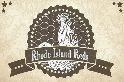 Rhode Island Reds 5--Giclee Print