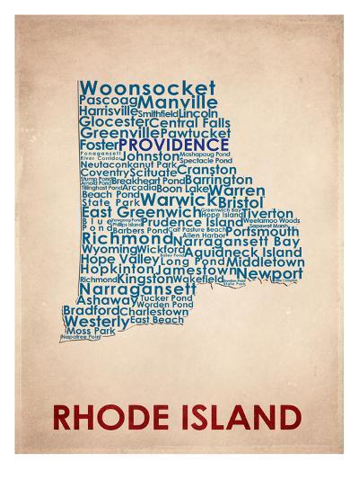 Rhode Island--Art Print