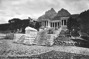 Rhodes Memorial, Groote Schuur, Cape Town, South Africa, 1917
