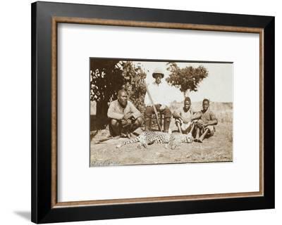 Rhodesia - Zimbabwe - Cheetah Hunting--Framed Photographic Print