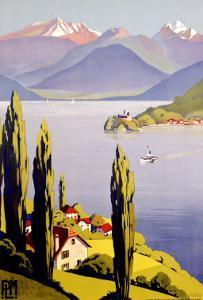 Rhone Alps Lake Annecy
