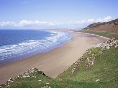 Rhossili Bay, Gower Peninsula, Wales, United Kingdom-Roy Rainford-Photographic Print