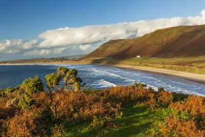 Rhossili Bay, Gower, Wales, United Kingdom, Europe-Billy Stock-Photographic Print