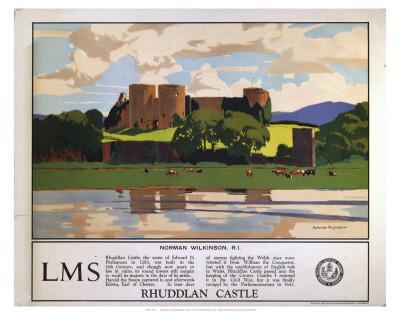 Rhuddlan Castle--Art Print