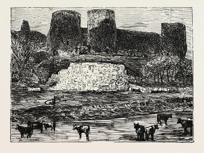 Rhuddlan Castle--Giclee Print