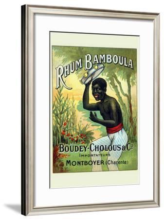 Rhum Bamboula--Framed Art Print