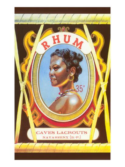 Rhum, Black Woman--Art Print
