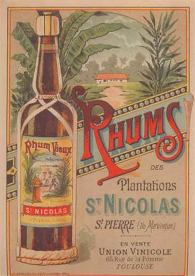Rhum St Nicolas--Art Print
