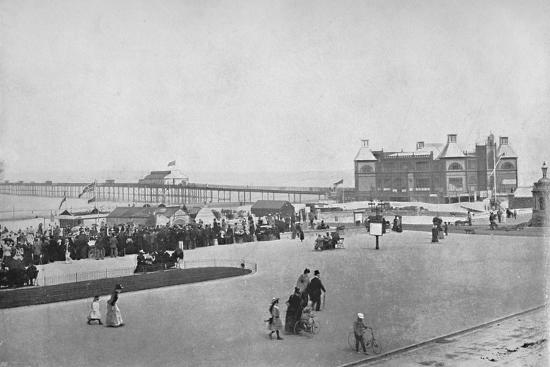 'Rhyl - The Esplanade', 1895-Unknown-Photographic Print