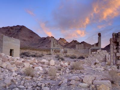 Rhyolite Ghost Town, Beatty, Nevada, United States of America, North America-Richard Cummins-Photographic Print