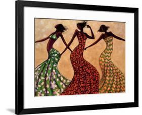 Rhythm-Monica Stewart-Framed Art Print