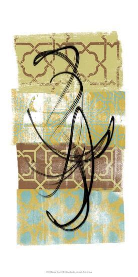 Rhythmic Motion I-Alonzo Saunders-Art Print