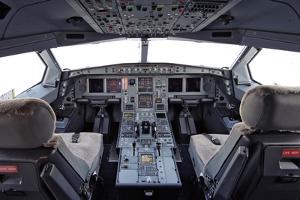 Airbus A330 Cockpit by Ria Novosti
