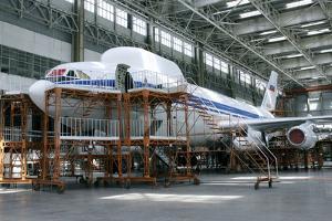 Aircraft Maintenance Hangar by Ria Novosti