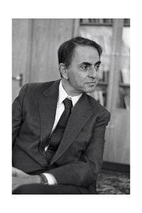 Carl Sagan, US Astronomer by Ria Novosti