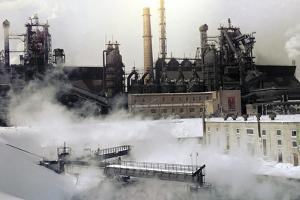 Iron And Steel Works by Ria Novosti