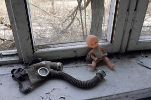Items Abandoned After Chernobyl Disaster by Ria Novosti