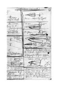 Korolev's Designs for Soviet Rockets by Ria Novosti