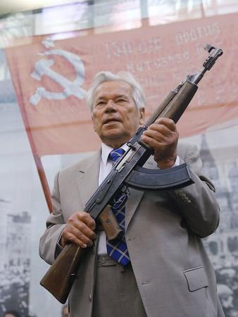 Mikhail Kalashnikov, Russian Gun Designer