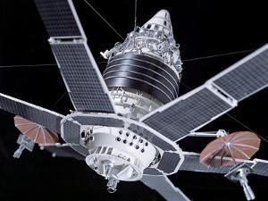 Molniya Military Communication Satellite by Ria Novosti