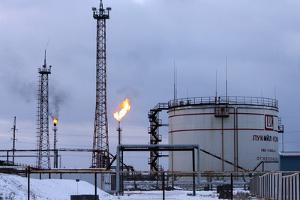 Oil Wells And Natural Gas Storage Tank by Ria Novosti