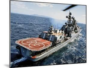 Russian Destroyer Admiral Panteleyev by Ria Novosti