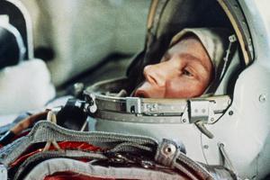 Soviet Cosmonaut Valentina Tereshkova. by Ria Novosti