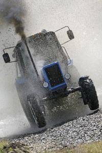 Tractor Racing by Ria Novosti