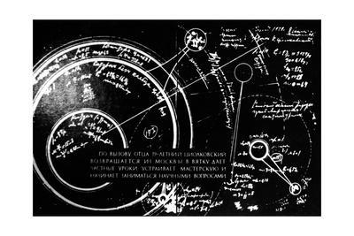 Tsiolkovsky's Works on Space Conquest