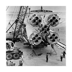 Vostok Spacecraft Launch Vehicle by Ria Novosti