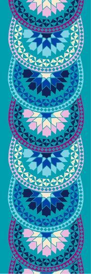Riad Mira Blue--Giclee Print