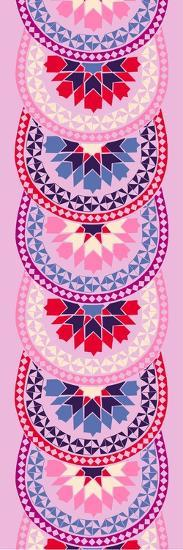 Riad Mira Pink--Giclee Print