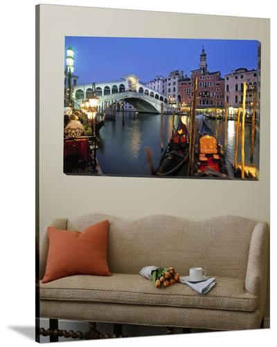 Rialto Bridge, Grand Canal, Venice, Italy-Demetrio Carrasco-Loft Art