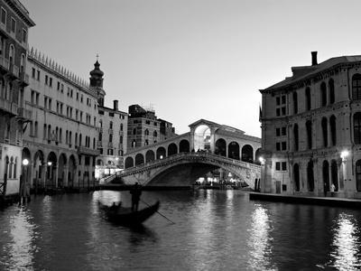 Rialto bridge grand canal venice italy photographic print by alan copson the new art com