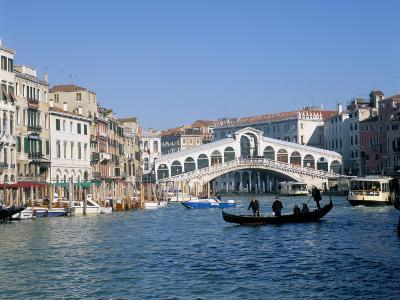 Rialto Bridge, Venice, Unesco World Heritage Site, Veneto, Italy-Lee Frost-Photographic Print
