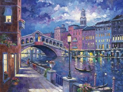 Rialto Bridge-John Zaccheo-Giclee Print