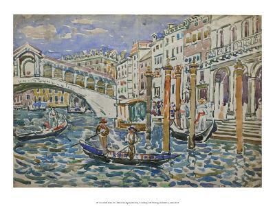 Rialto, Venice, 1911-Maurice Prendergast-Art Print